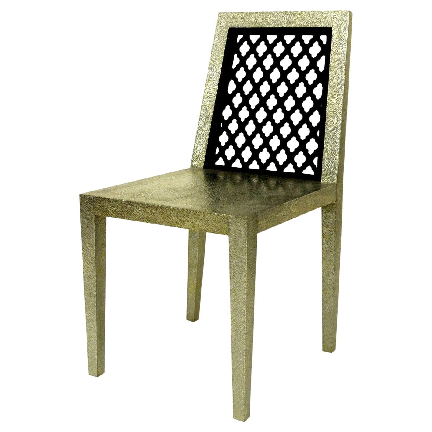 Jour Jali Back Chair by Paul Mathieu for Stephanie Odegard