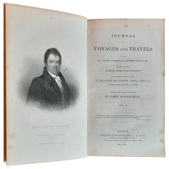Journal of Voyages and Travels '2 Vol.' by Tyerman & George Bennet, '1831'