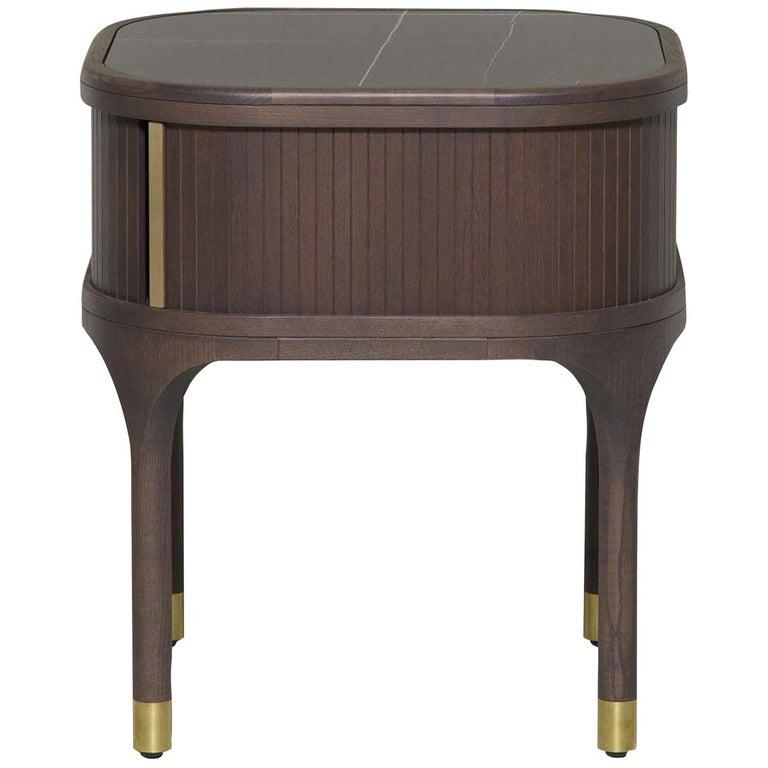 Joyce Bedside Table by Libero Rutilo For Sale
