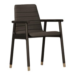 Joyce Black Armchair #1 by Libero Rutilo