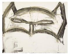 Margate Batman -- Lithograph, Graphic Novels, Mask, Hero by Joyce Pensato
