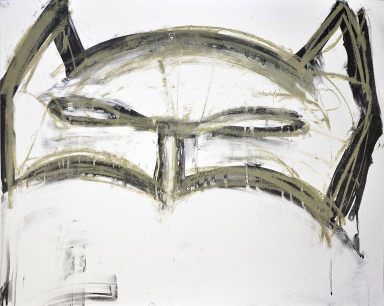 Joyce Pensato Figurative Print - Pensato, Margate Batman, Lithograph, 2019
