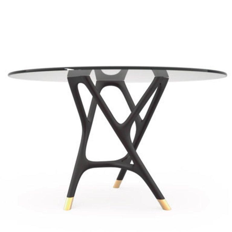 Italian Joyce Round Dining Table For Sale