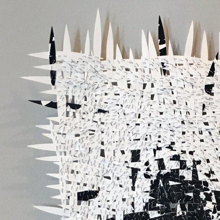 Fingerprint 3 - Sculpture by Jozef Bajus