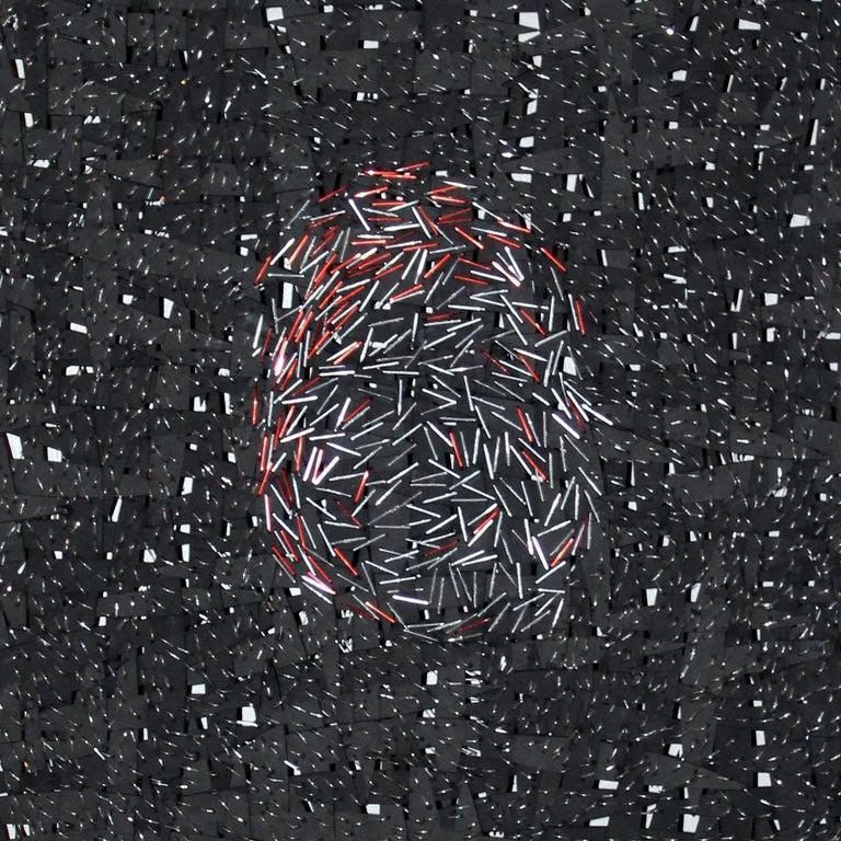 Fingerprint - Conceptual Mixed Media Art by Jozef Bajus
