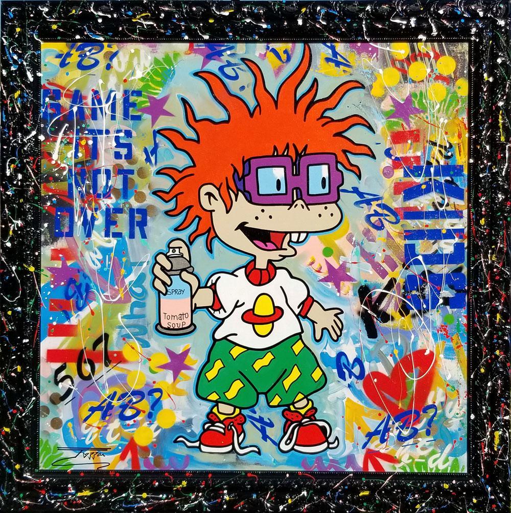 Original Art - Spray Day