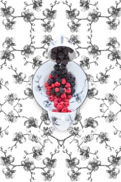 Aram Black Orchid with Berries