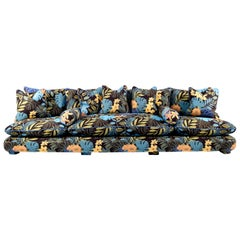 JPDemeyer Home Collection Grand Sofa Cha-Cha in Jungle by Night Fabric