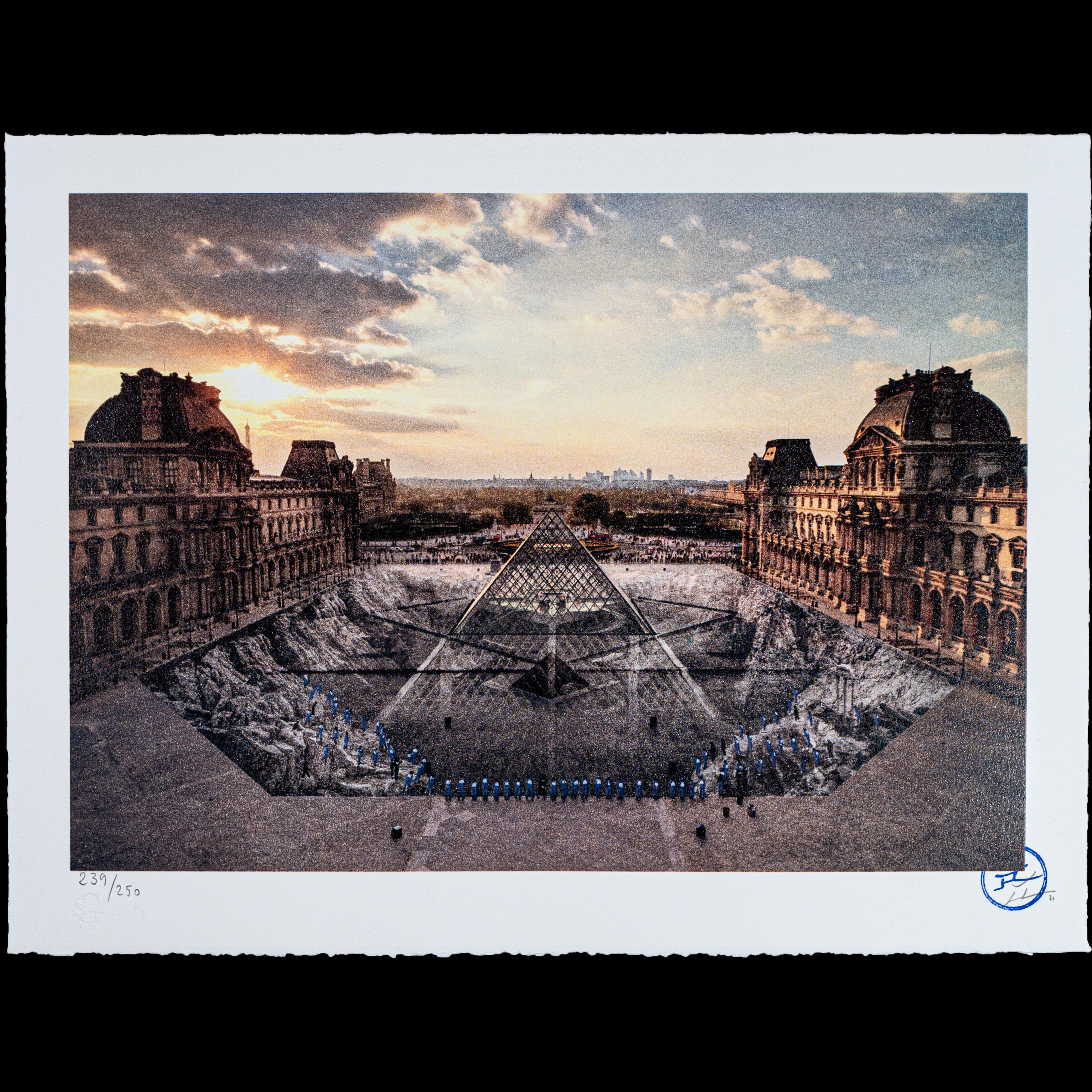 JR au Louvre, 29 Mars 2019, 18h08 - Contemporary, 21st Century, Print, Edition