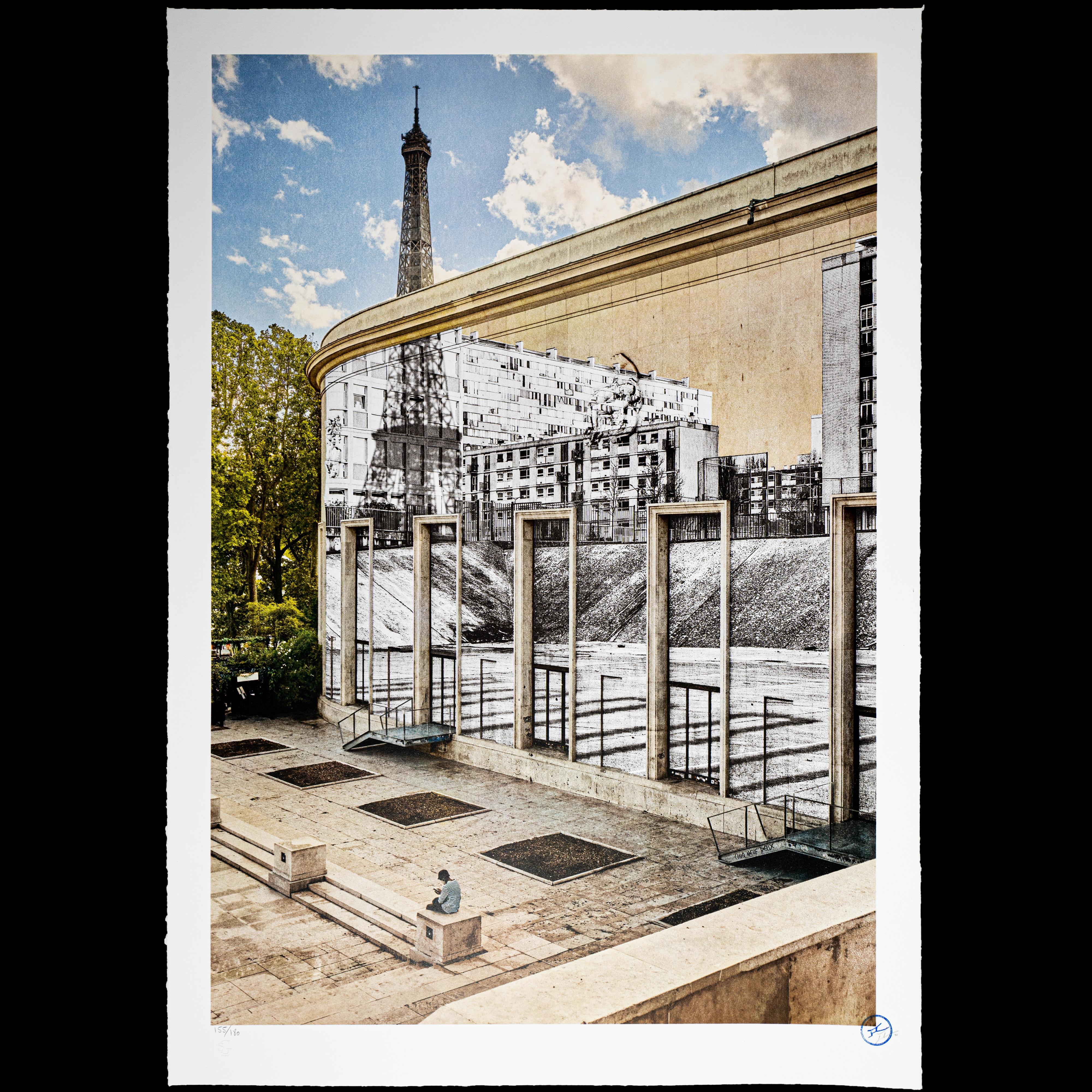 JR Au Palais De Tokyo, 28 Aout 2020, 16h12, Paris  - Contemporary, 21st Century