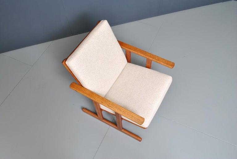 Jørgen Baekmark, Early Oak Armchair For Sale 4