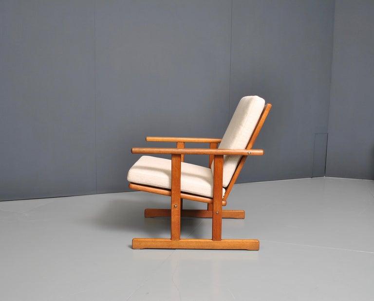 Jørgen Baekmark, Early Oak Armchair In Good Condition For Sale In London, GB