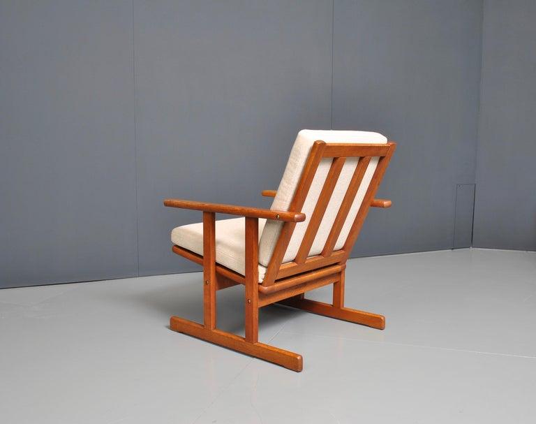 20th Century Jørgen Baekmark, Early Oak Armchair For Sale