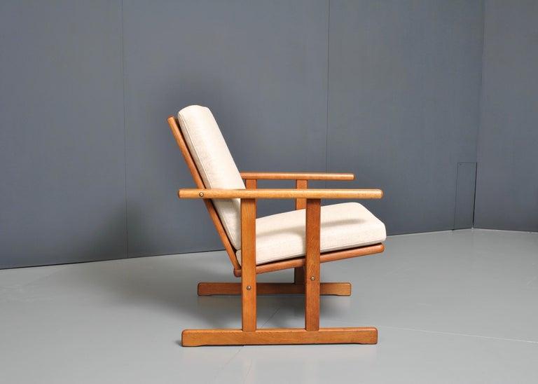 Jørgen Baekmark, Early Oak Armchair For Sale 1