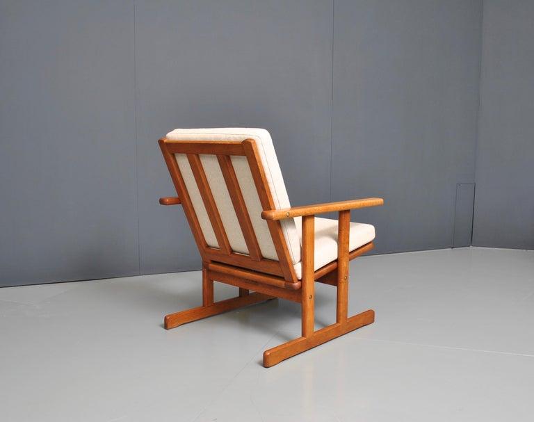 Jørgen Baekmark, Early Oak Armchair For Sale 2