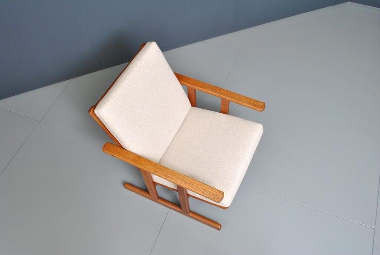 Jørgen Baekmark, Early Oak Armchair For Sale 3