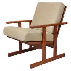 Jørgen Baekmark Oak Armchair, 1950
