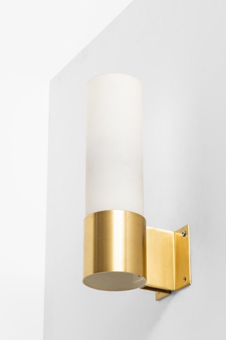 Scandinavian Modern Jørgen Bo Wall Lamps Model Sonet Produced by Fog & Mørup in Denmark For Sale