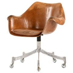 Jørgen Lund & Ole Larsen Office Chair Model 932 Produced by Bo-Ex in Denmark