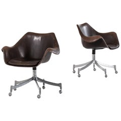 Jørgen Lund & Ole Larsen Office Chairs Model 932 by Bo-Ex in Denmark
