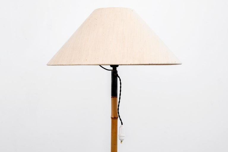 J.T. Kalmar Style Floor Lamp In Fair Condition For Sale In Los Angeles, CA