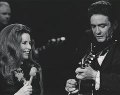 Johnny Cash and June Carter Fine Art Print
