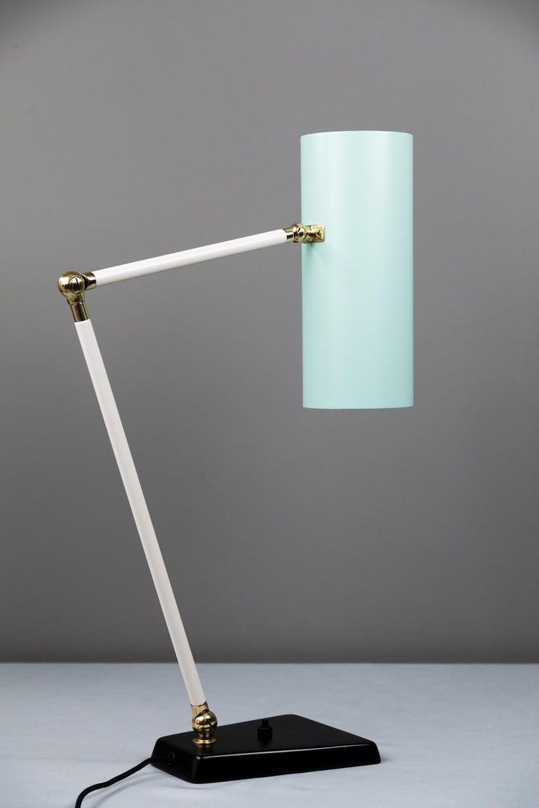 Austrian J.T. Kalmar Table Lamp, Vienna, circa 1960s For Sale