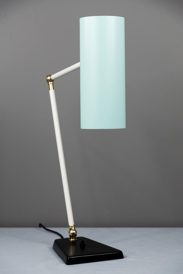 Lacquered J.T. Kalmar Table Lamp, Vienna, circa 1960s For Sale