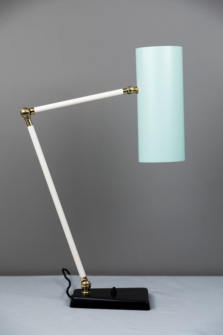 J.T. Kalmar Table Lamp, Vienna, circa 1960s In Good Condition For Sale In Wien, AT