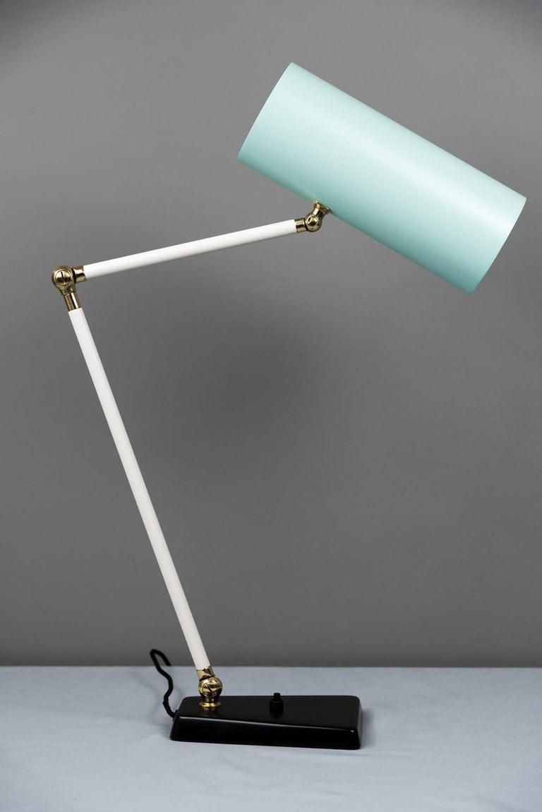 Mid-20th Century J.T. Kalmar Table Lamp, Vienna, circa 1960s For Sale