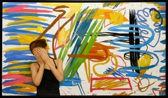 """Mixed Media """"Childhood Dream"""" by Juan Cossio 37"""" x 65"""""""