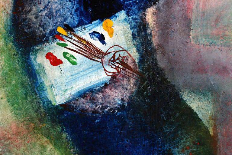 The Artist I, Oil Painting by Juan Garciá a Ripollés For Sale 1