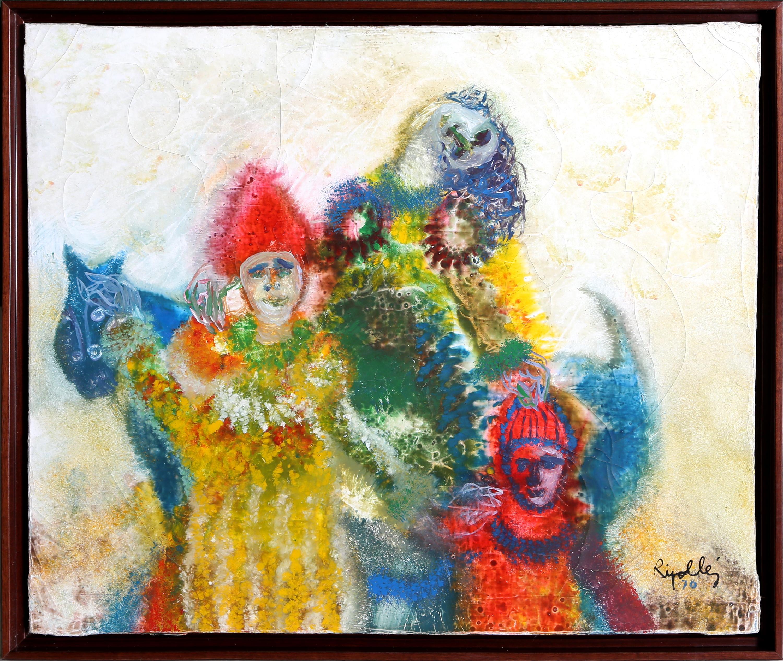Three Arlequins, 1971 by Juan Garcia Ripolles