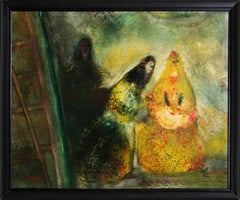 Three Women, Oil Painting by Juan Garcia Ripolles