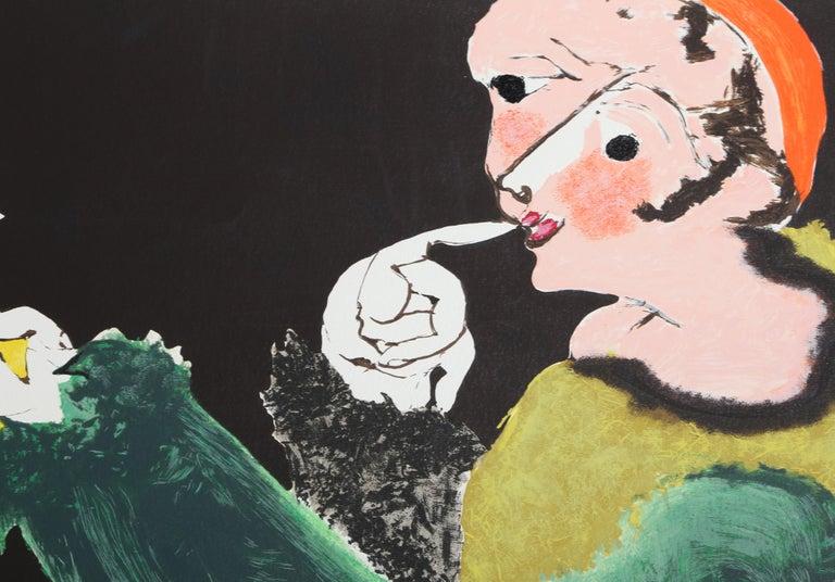 Arlequin, Modern Screenprint by Juan Garcia Ripolles For Sale 1