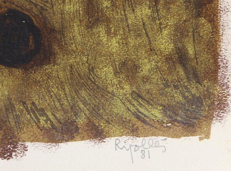 Arlequin, Modern Screenprint by Juan Garcia Ripolles For Sale 2