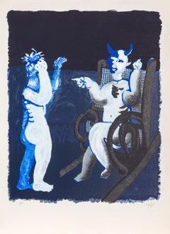 Diablo, Screenprint by Juan Garcia Ripolles
