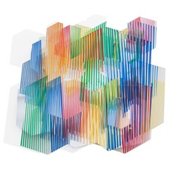 "Juan Gerstl ""Alegría"" Printed Plexiglass Wall-Mounted Sculpture, Spain, 2020"