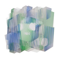 "Juan Gerstl ""Paz"" Printed Plexiglass Wall-Mounted Sculpture, Spain, 2020"