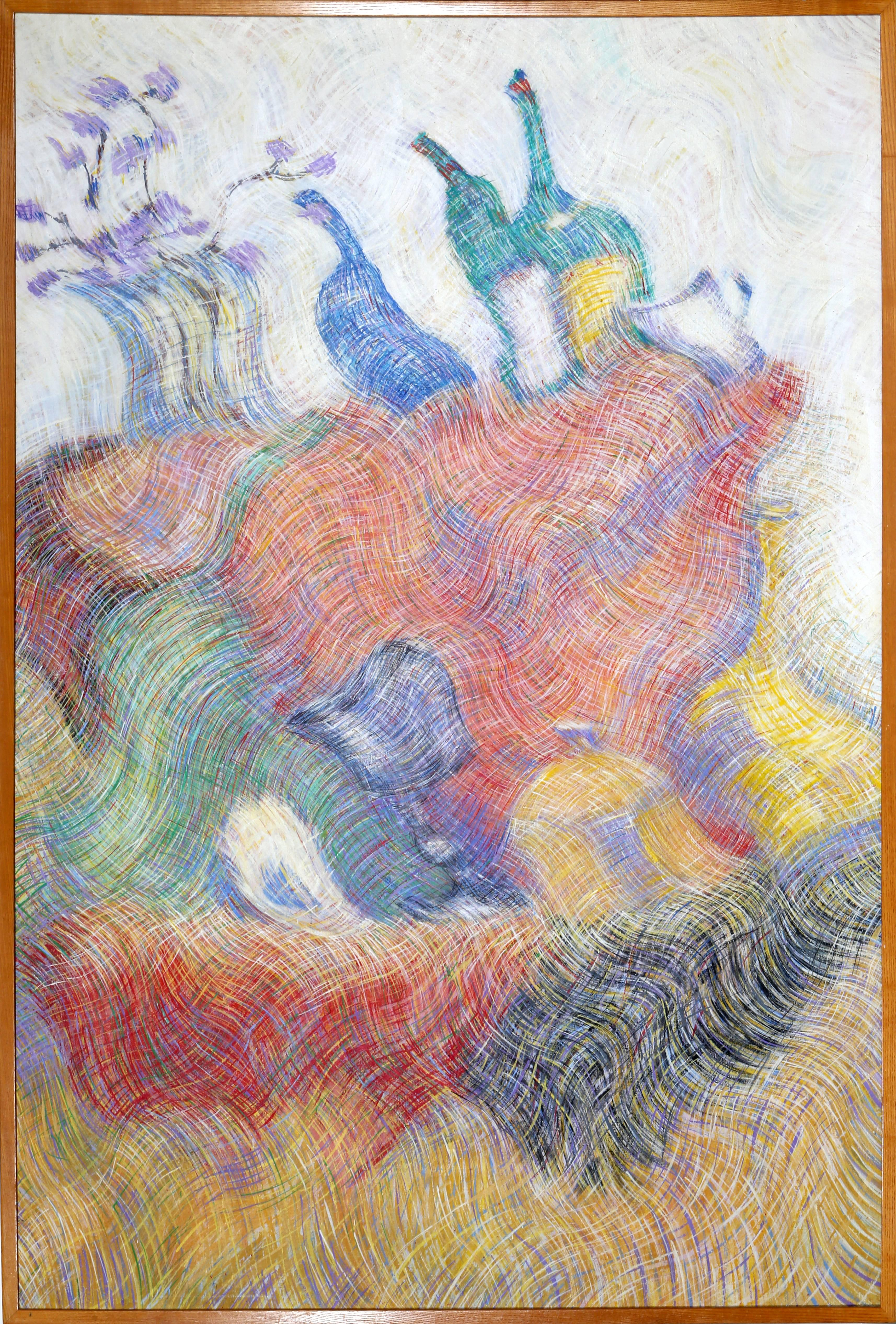 Bodegon 5, Large Surreal Still Life by Juan Quiroz