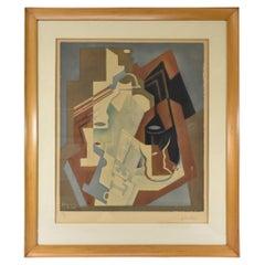 Juan Gris Le Siphon Collotype Cubisim Limited Edition