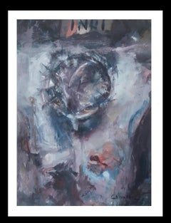 Abella- religious theme Christ on The Cross. Original acrylic Painting