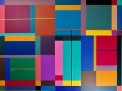 Magenta Dream, 2019, Painting, Acrylic on Canvas