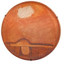 Juan Manuel De la Rosa Ceramic Plate