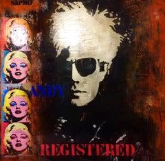 ANDY WARHOL. ORIGINAL. STREET ART