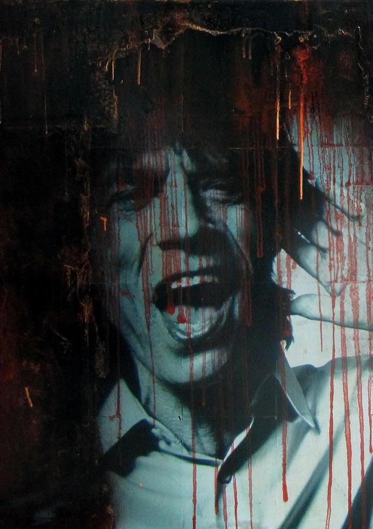 Boikot war. street art. Original Painting For Sale 1
