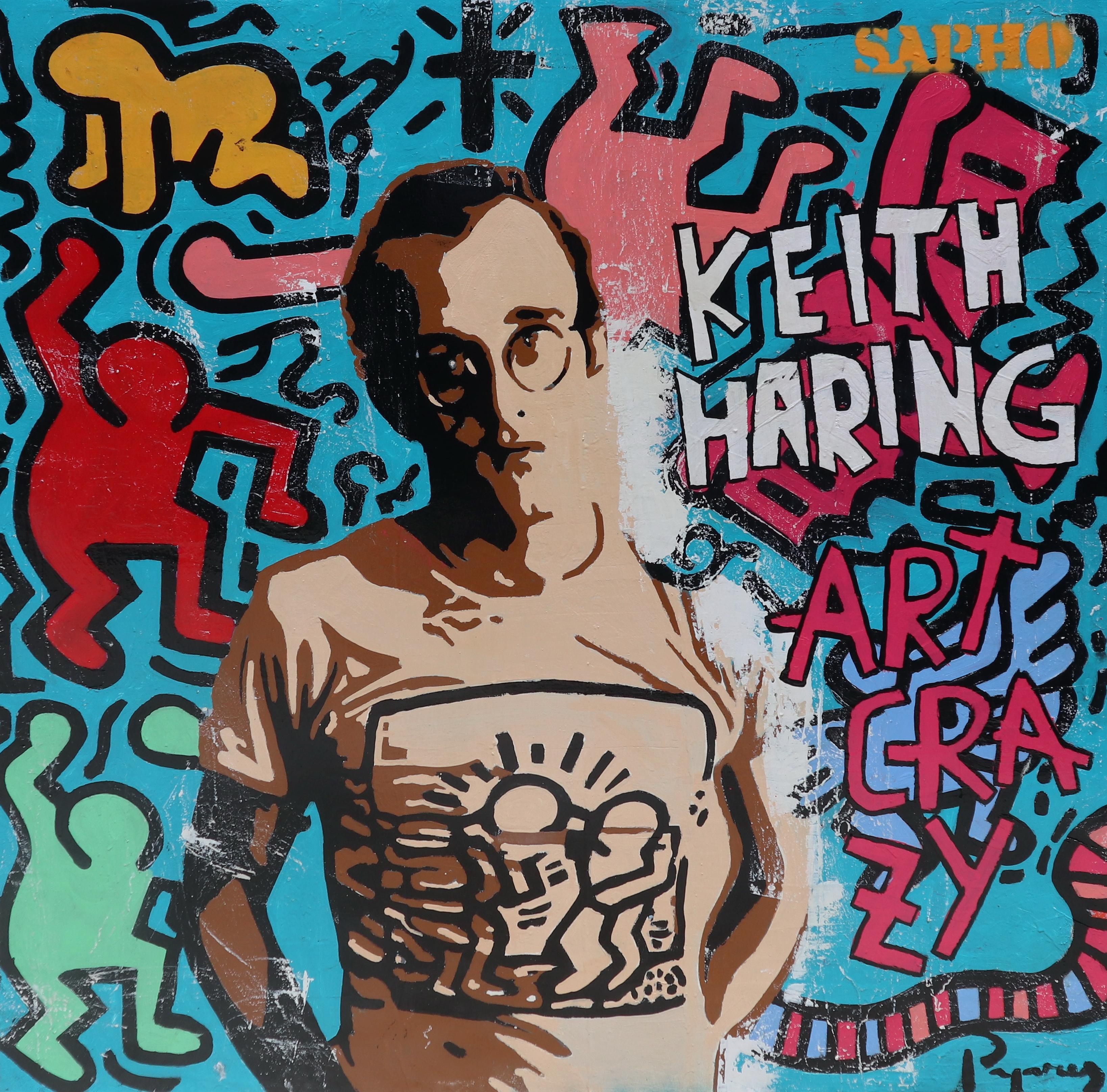 keith street art. original painting