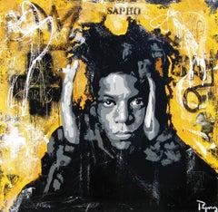 UNIC  original street art mixed media painting