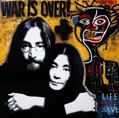 WAR IS OVER. Original painting