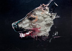 3D Painting of Wolf: 'The Hunter  XXXV'